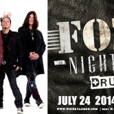 FOZZY, NIGHT VERSES, BLOOD OF THE HERETIC, DRUG THE KIDS