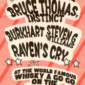 RAVEN'S CRY, BURKHART, BRUCE THOMAS, INSTINCT., STEVEN G. WILLIAMS, THE IVORYS