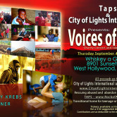 TAPS & CITY OF LIGHTS INTERNATIONAL PRESENTS VOICES OF HOPE