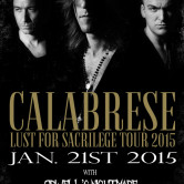 CALABRESE, ORWELL'S NIGHTMARE, WAR MACHINE, RELAPSE SYMPHONY