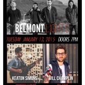 BELMONT LIGHTS, KEATON SIMONS, WILL CHAMPLIN