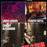 LAURIE LARSON, CHIANY ALEXANDRA, PLASTIC CASTLE, CHOLESTERAL JONES, SHAUFRAU
