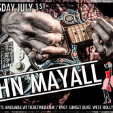 JOHN MAYALL, THE LIGHTFIGHTERS, BRIGITTE DEMEYER