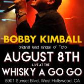 BOBBY KIMBALL – The Original Voice of Toto, CHERRY COBLER JAM, TJ DOYLE BAND, DETOUR 91