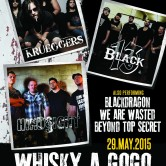THE BLACK 13, HINDSIGHT, KRUEGGERS, WE ARE WASTED, BEYOND TOP SECRET, BLACKDRAGON
