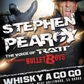 STEPHEN PEARCY of RATT + BULLETBOYS, 10 TO MIDNITE, HITMEN AND HOOKERS