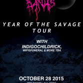 """DOPE ENTERTAINMENT PRESENTS: ROBB BANK$ """"Year of the Savage"""" TOUR w/ IndigoChildRick, Wifisfuneral, & more TBA"""