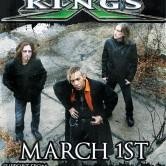 KING'S X, KINGS OF SPADE, THE HARD WAY, STARCH MONKEY