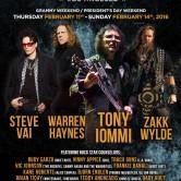 ROCK N' ROLL FANTASY CAMP W/ STEVE VAI, WARREN HAYNES, TONY IOMMI, ZAKK WYLD & MORE!