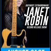GUITARIST EXTRAORDINAIRE JANET ROBIN, REDLIGHT DISTRICT, ELECTRIC ONE, THE DANIEL GREEN SHOW, SPRINGTIDE SOLICE