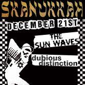 SKANNUKAH ft. THE SUN WAVES, DUBIOUS DISTINCTION