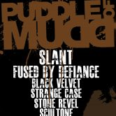 PUDDLE OF MUDD, SLANT, FUSED BY DEFIANCE, BLACK VELVET, STRANGE DAYS, STONE REVEL, SCULTONE