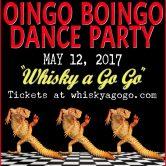 OINGO BOINGO DANCE PARTY, BLAHDIOS, STEEL VERTIGO, THE RICKY FITTS, STRANGER THAN FICTION