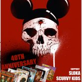 THE DICKIES 40th ANNIVERSARY, SLOKA, SCURVY KIDS, THE AUTISTICS, 12 MONTHS, EXIT HERE