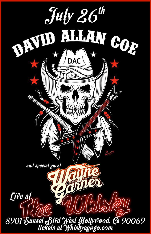 David allan coe tour dates
