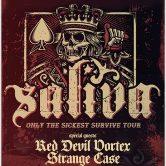 SALIVA, RED DEVIL VORTEX, STRANGE CASE