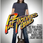 PAT TRAVERS BAND, THE ROAD VIKINGS, DOLE HUMPHRIES, SANDY HEALY BAND, MURDER PONY, ZACHARY WATERS