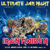 ULTIMATE JAM NIGHT : A NIGHT OF IRON MAIDEN