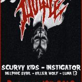 DOYLE, SCURVY KIDS, INSTIGATOR, DELPHIC SYBIL, KILLER WOLF, LUNA 13