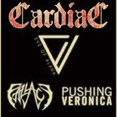 CARDIAC, EVE OF ALANA, FALLACY, PUSHING VERONICA