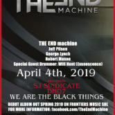 THE END MACHINE, SJ SINDICATE, DND7, WE ARE THE BLACK THINGS